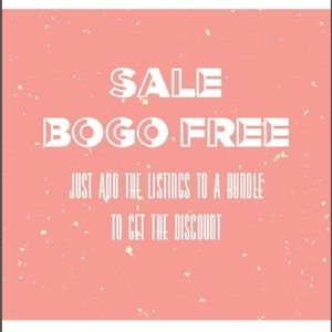 SALE - BOGO FREE! Going on thru the end of January